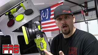 Brand New Ryobi 18V Dual Action Polisher! Let's See What It Can Do!