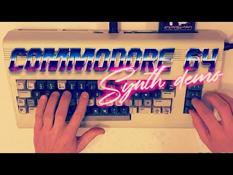 COMMODORE 64 - C64 SID SYNTH DEMO