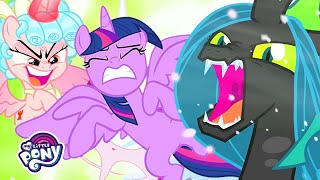 My Little Pony | The Villains Attack Canterlot! (The Ending of the End) | MLP: FiM