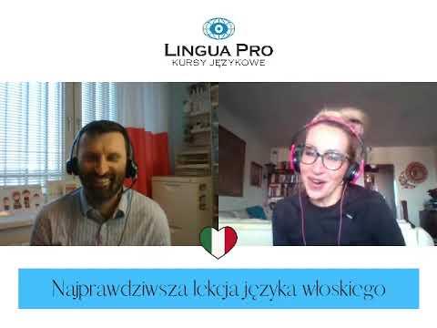 Kadr z filmu na youtube - Najprawdziwsza lekcja języka włoskiego 10_20 online