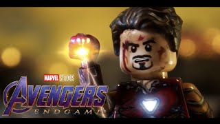 Avengers: Endgame I Am Iron Man Snap Scene In LEGO