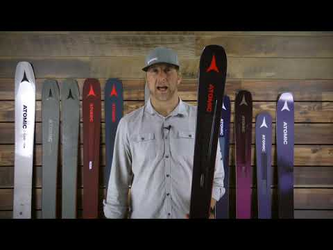 Atomic Vantage 90 TI Skis- Men's 2019 Review