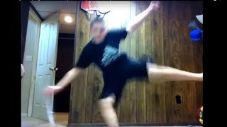 Kids Falling Attempting To Levitate Compilation