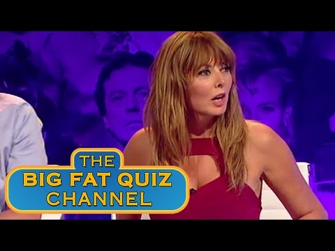The Big Fat Quiz – Carol Vorderman a prstění