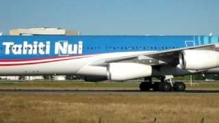 Air Tahiti Nui, Airbus A340-313X Taxiway CDG
