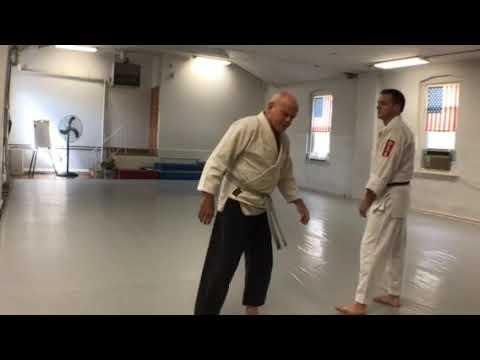 Aikido Training: Face punch kaiten nage