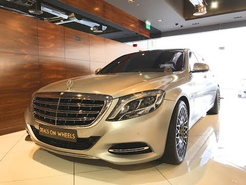 2017 Mercedes Maybach S600  Complete Review  Startup  Interior  Exterior  Dubai