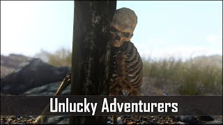 Skyrim 5: Unlucky Adventurers and Explorers You Probably Missed - The Elder Scrolls 5 Secrets