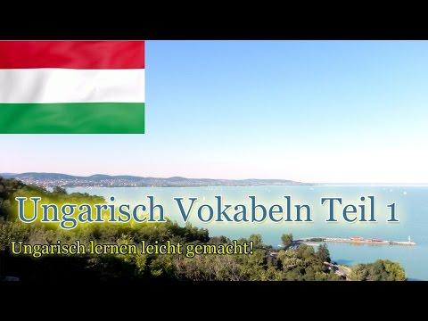 Ungarisch lernen für Anfänger   Vokabeln zum nachsprechen Teil 1   Deutsch-Ungarisch-A1 🇭🇺 ✔️