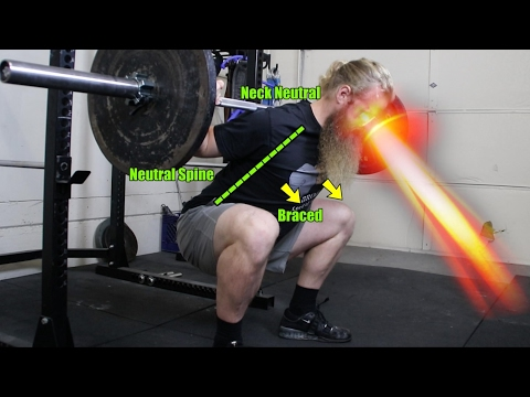 How To Low Bar Squat: Torso Angle / Butt Wink / Reaching Depth