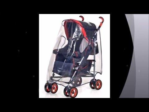 Reer 70533   Protector para la lluvia para silla de paseo tamaño XL