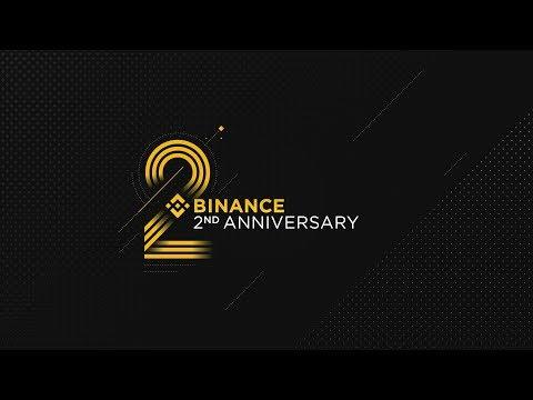 #BinanceTurns2 Lucky Draw July 2019