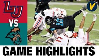(Instant Classic) Liberty vs #12 Coastal Carolina Highlights | 2020 Cure Bowl Highlights |