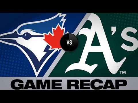 Stroman, bats lead Blue Jays to 5-1 win - 4/19/19
