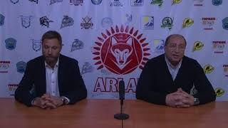 Пресс-конференция «Арлан» - «Бейбарыс»