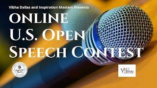 U.S. Open Speech Contest Detail