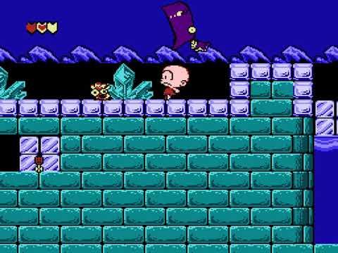 [TAS] NES Bonk's Adventure by Memory in 17:07,96