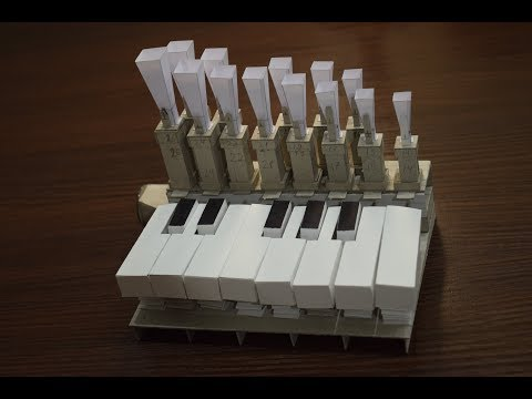 Russian man makes pipe organ out of paper