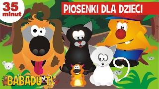 Polskie piosenki dla dzieci - pieski, kotki, myszki i jeden chomik - zestaw Babadu TV