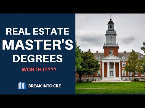 , title : 'Masters In Real Estate, MBA, or Skip It Altogether?