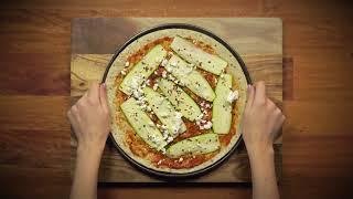 Cukkinis, Chilis és Fetasajtos pizza