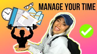 How to balance school, work, and weight loss | FOCUS & MANAGE YOUR TIME