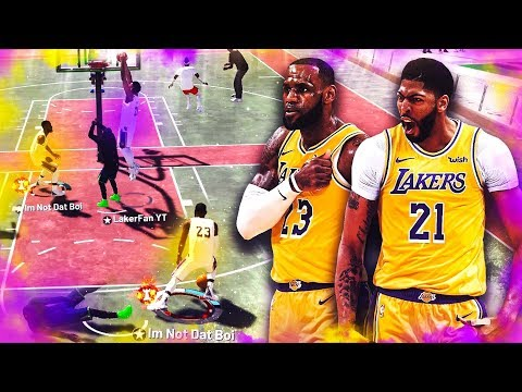 LeBRON JAMES and ANTHONY DAVIS are UNSTOPPABLE on NBA2K19...