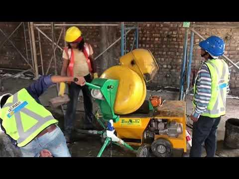 Cement Plastering Machine