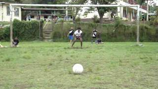 preview picture of video 'Madventurer Fiji - Lautoka Arya Samaj Sports Day, Soccer Penalty Shoot Out. Great Goals!'