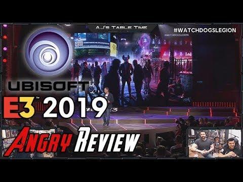 Ubisoft E3 2019 Press Conference Review (Live) w/AngryJoe & Crew!
