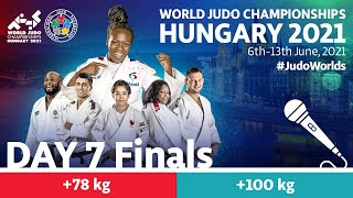 Day 7 - Finals: World Judo Championships Hungary 2021