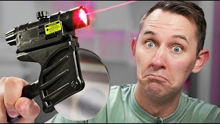 Laser Pizza Slicer?!   10 Ridiculous Tech Items