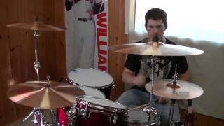 """AC/DC """"Cant Stop Rock N Roll"""" (Drum Cover)"""