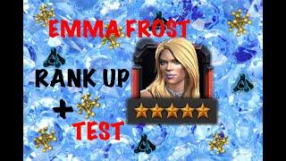 """Promozione Di """"Emma Frost"""" 5 Stelle A Rango 4 Con Analisi+Test In """"PROBLEMI E SOLUZIONI MARVEL """""""