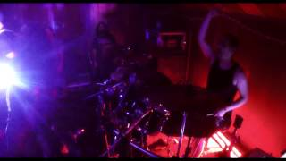 """Wastewalker drum cam """"Hazmat birth"""" live @ Zombie ball tahoe 2016"""