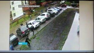 Массовая драка в Уфе попала на видео