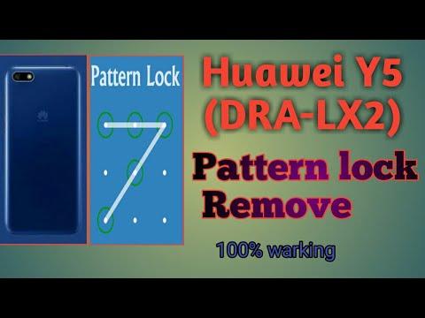 Huawei Y5 Prime DRA-LX2 hard reset - pin pattern lock remove