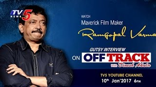 Maverick Film Maker RGV Gutsy Interview  Tomorrow 6 PM  OffTrack6 With Dinesh Akula  TV5 News