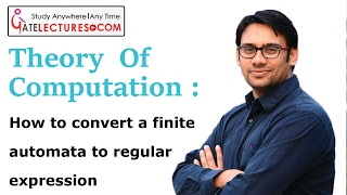 28 How to convert a finite automata to Regular expression (FA to RE)