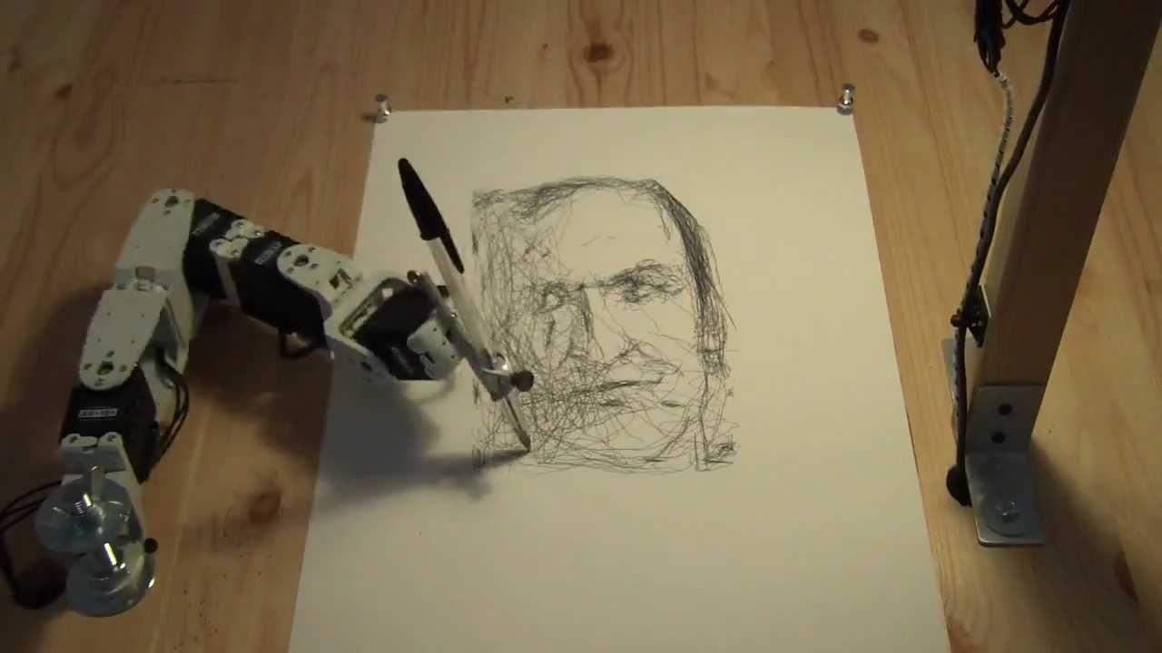 Meet Paul, The Clumsy Robo-Artist
