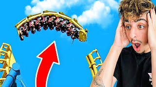Riding the Worlds SCARIEST Roller Coaster!
