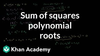 Sum of Squares of Polynomial Roots