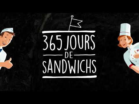 365 jours de sandwichs - Recettes