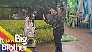PBB 7 Day 205: Liza at Enrique, iniarte ang isang eksena sa kanilang pelikula