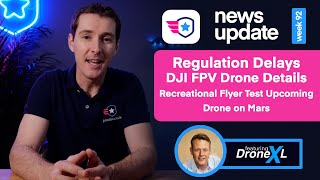 Drone News: New Regulation pushed back. DJI FPV Drone Udpates. Recreational Flyer Test is coming!