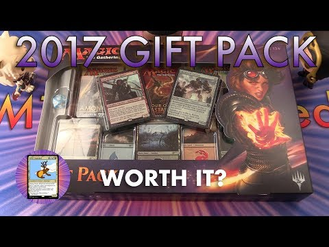 MTG Unpacked – Unboxing a 2017 Gift Pack of Magic: The Gathering cards