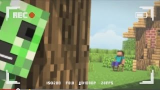 [Bluemonkey] Крипер и неудачный пранк (Rus by Rissy)