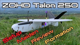 Talon 250 ???? ⚖️ Setup / Maiden / Review / Formation Flying with Talon Pro