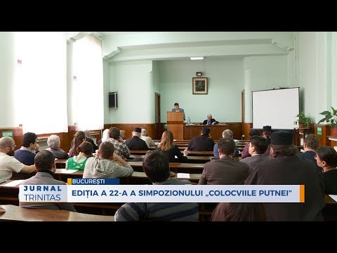 The 22nd edition of the Putna Colloquia