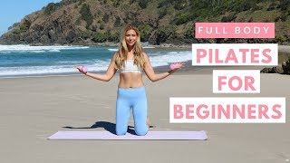 Pilates For Beginners 💖  Full Body Workout At Home 👙 💦   Summer Body with Bailey